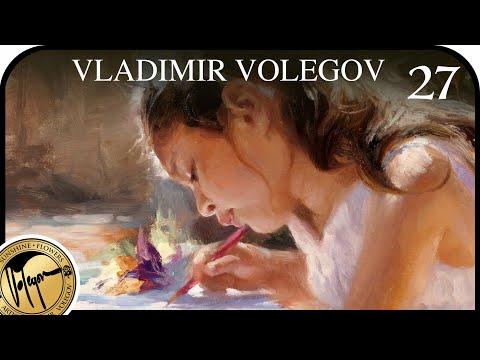 VLADIMIR VOLEGOV. Drawing Girl