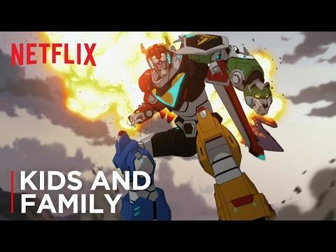 Netflix presentó el trailer del nuevo dibujo de Voltron