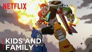Voltron: Legendary Defender | Official Trailer [HD] | Netflix