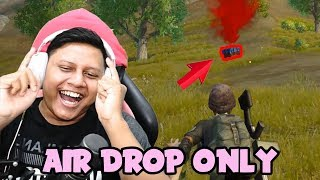 Rekam 2 Jam Air Drop Only Challenge - PUBG Mobile
