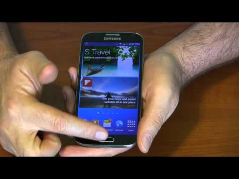 Galaxy S4 Setup and Features