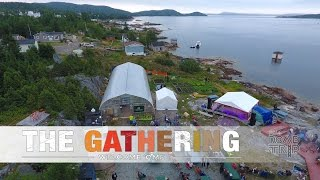 The Gathering 2016 festival in Burlington, Newfoundland