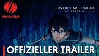 Sword Art Online -Alicization- | Offizieller Trailer [OmdU]