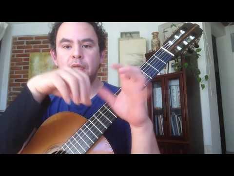 Guitarra Clásica: Técnica De La Mano Izquierda, Extensiones Con Movimientos Contrarios, Precisión!