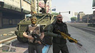 GTA 5 Funny/Brutal Kills Insurgent Pick Up Rampage Episode 16