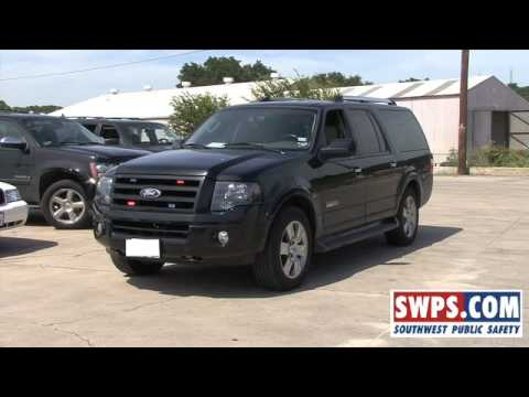2007 Ford Expedition EL Limited Police Lights Video