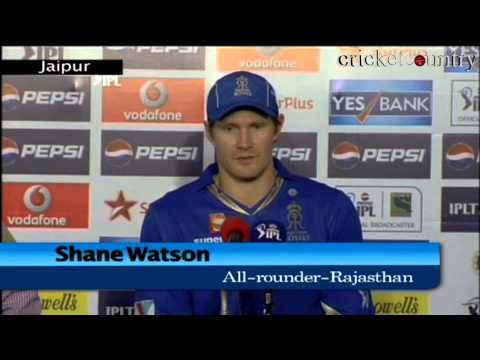 IPL 2013: Rahul Dravid doing a great job for Rajasthan Royals, says Shane Watson