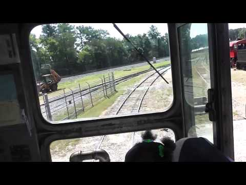 Southeastern Railway Museum Cab Ride In(HD) Duluth,Ga.9-14-2013 Part 1
