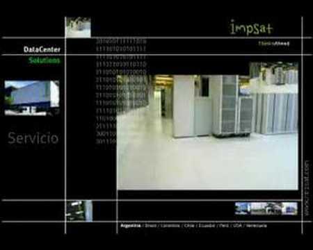 Video Institucional de Data Center Impsat 2007