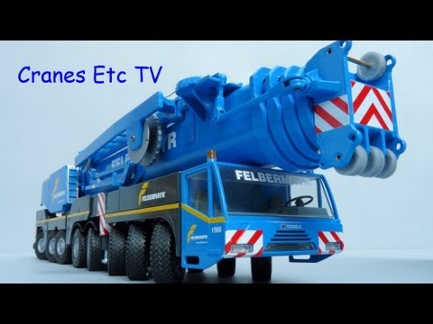 Cranes Etc TV:  Conrad Terex AC500-2 Mobile Crane 'Felbermayr' Review