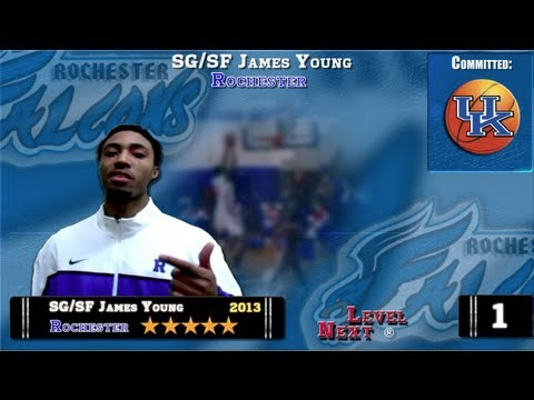 ESPN Top 100 (#6) Basketball  SG/SF James Young-Rochester