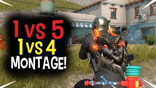 Insane Outplays! ROS 1 VS 5 | 1 VS 4 | Kill Montage!