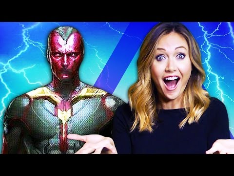 What The Vision's PERFECT look means for Avengers: Age of Ultron! (Nerdist News w/ Jessica Chobot)