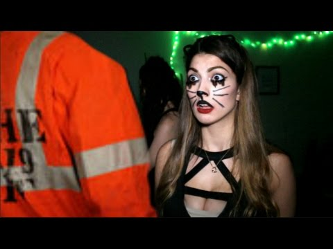 How Girls Get Ready For Halloween!