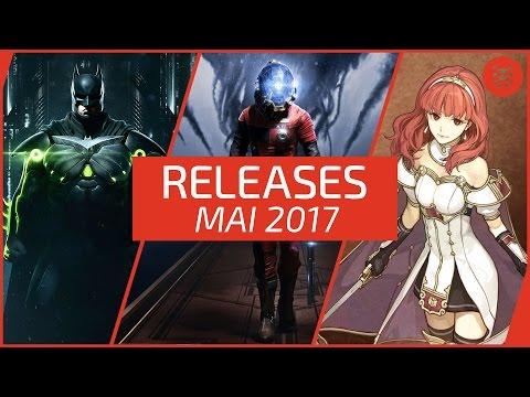 Neue SPIELE im MAI 2017 - RELEASES für PC, PS4, Xbox One, Switch, 3DS & PS Vita │Frisch aufgetischt