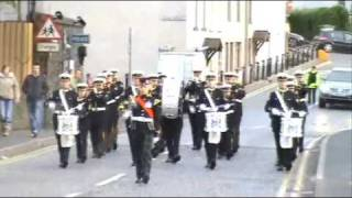 Shankill Road Defenders Flute Band.