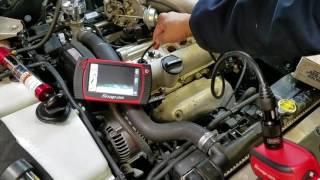 [Xe oto] Thợ máy dùng  camera để kiễm tra trong lòng máy như thế nào!??#90.
