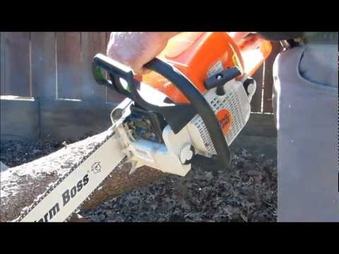 Stihl ms290 Farm Boss Stihl Chainsaw review and test cut