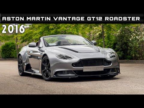 2016 Aston Martin Vantage GT12 Roadster Review Rendered Price Specs Release Date