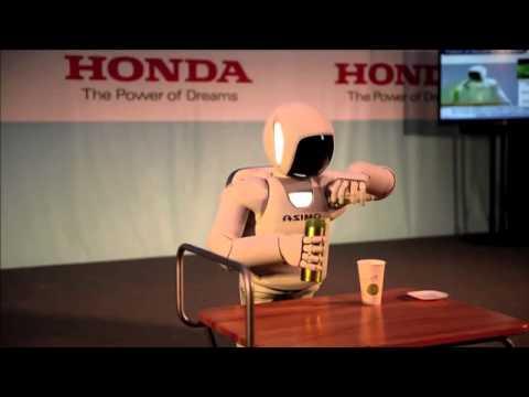 혼다의 휴머노이드 로봇, 아시모(ASIMO)