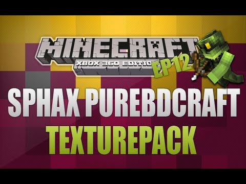 Minecraft Xbox 360 - TU10 Texturepack Reviews Ep12(Sphax PureBDCraft)
