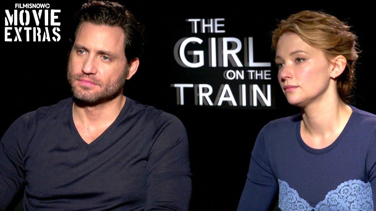 The Girl On The Train (2016) - Haley Bennett & Edgar Ramirez talk about the movie