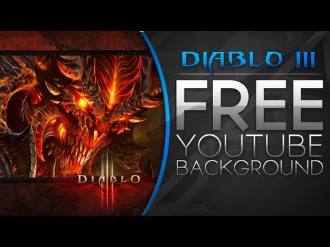 Free YouTube Backgrounds - Diablo 3 YouTube Background (Download Link Available)