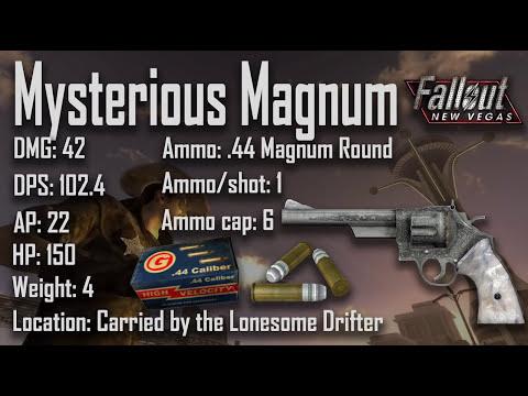 Pistols - Rare & Unique - Fallout New Vegas (Includes DLCs)