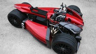 Lazareth Wazuma V8F 3.0 Ferrari quad vehicle