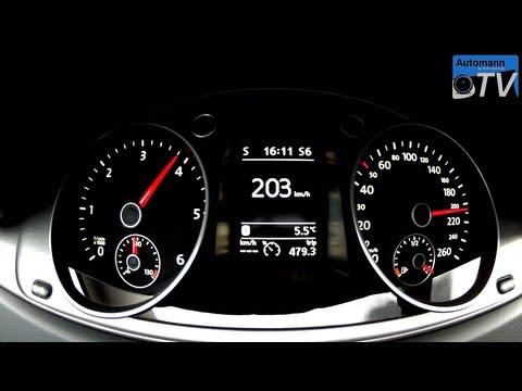 2013 VW Passat 2.0 TDI (140hp) - Autobahn-Test (1080p FULL HD)