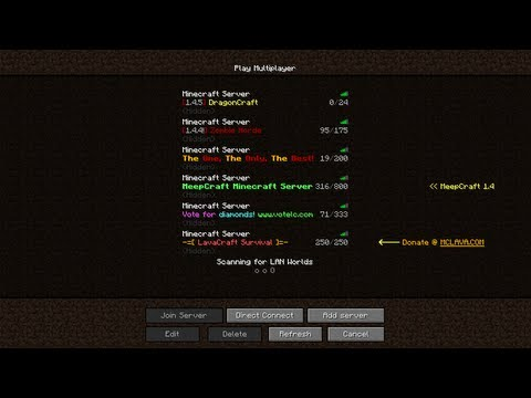 Minecraft Colored MOTD Tutorial