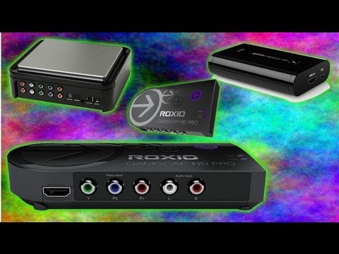 BEST Game Capture Card (HD) - Hauppauge vs Elgato vs Roxio HD - How to Record Gameplay in HD