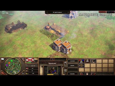 JUGANDO Age of Empires 3 - La Última Fortaleza