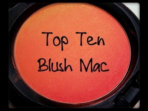 TOP TEN : I mie blush preferiti di Mac + Bonus!