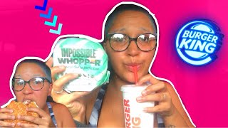 BURGER KING IMPOSSIBLE WHOPPER | Shocking Review
