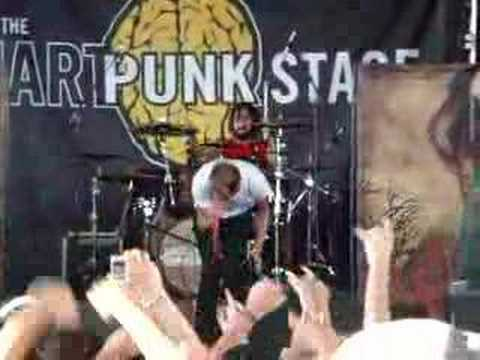 August Burns Red - Up Against The Ropes(Vans Warped '08) Video