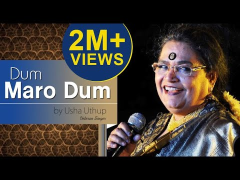 Dum Maro Dum - Usha Uthup Live - Hindi Superhit Song - Hd video