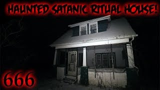 FOUND SATANIC BIBLE IN HAUNTED RITUAL HOUSE (DEMON)