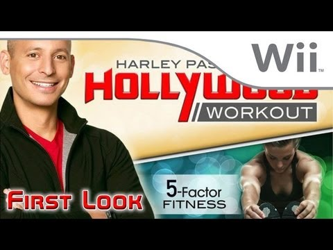 Harley Pasternak's Hollywood Workout - First Look [Wii]