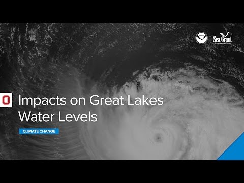 Climate Change Impacts on Great Lakes Water Levels