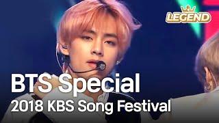 Bts Special 방탄스페셜 2018 Kbs Song Festival 2018 12 28