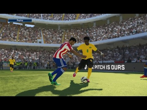 PES 2015 Copa América Simulation- Paraguay vs. Jamaica | Group B, Matchday 2