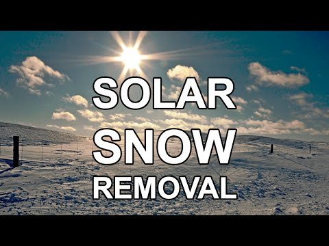 Solar Snow Removal | Travis Cycles | by Travis Southard