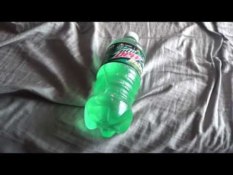Mountain Dew Baja Blast Bottle Review!! (First On Youtube!!)