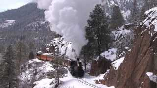 Winter Steam - Durango & Silverton Narrow Gauge Railroad