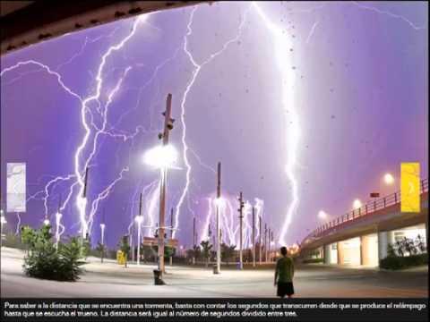 super tormentas y rayos