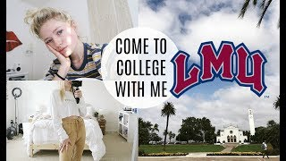 DAY IN MY LIFE AT COLLEGE / LOYOLA MARYMOUNT UNIVERSITY