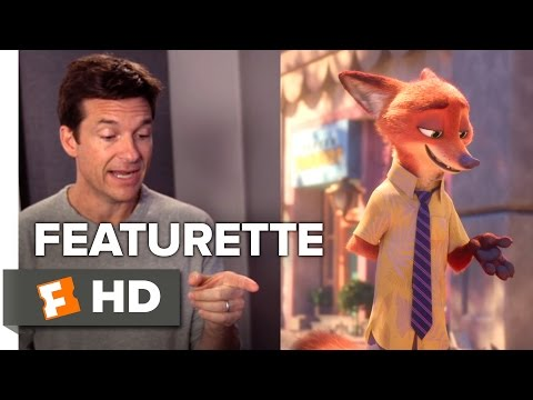 Zootopia Featurette - Cast and Characters (2016) - Jason Bateman, Ginnifer Goodwin Movie HD