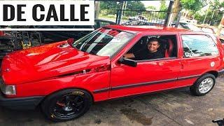 Fiat Uno TURBO de 500HP !!!! UNA LOCURAA / Matias Lara