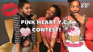 Pink Heart | Y.C.F CONTEST!!!